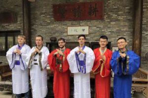 Les 6 joueurs (Photo Gu Xiaobing).