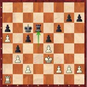 Puranik-Mvl, Ronde 2. Le pion blanc a5 aimerait reculer d'un cran !
