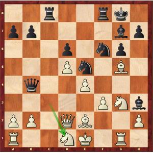Jumabayev-Mvl, Ronde 6. Les noirs prennent-ils la nulle ?