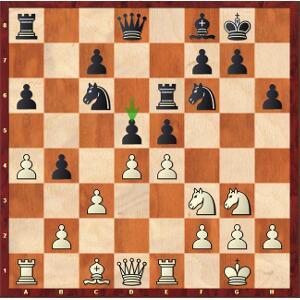 Mvl-Naiditsch, Ronde 7. Les blancs ont l'embarras du choix.