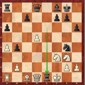 Mvl-Naiditsch, Ronde 7. La reprise en e1, un vrai dilemme…