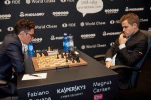 Carlsen-Caruana.