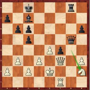 Caruana-Carlsen, Game 1; the World Champion surprisingly didn't win this position…