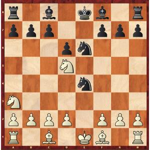 Carlsen-Caruana, Game 7; maybe Carlsen wanted this position?