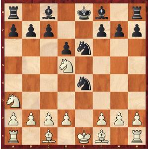 Carlsen-Caruana, Partie 7 ; peut-être Carlsen a-t-il voulu jouer cette position ?