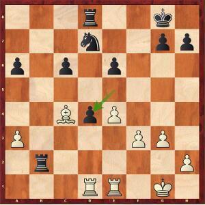 Carlsen-Caruana, Partie 13.