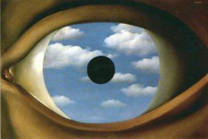 Le faux miroir (René Magritte)