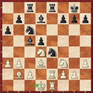 Caruana-Mvl, ronde 2.