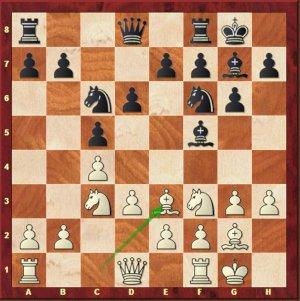 Carlsen-Mvl, ronde 9.