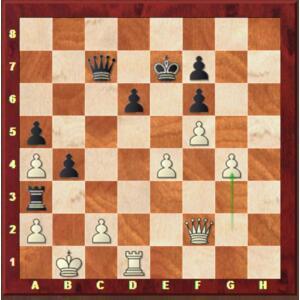 Carlsen-Mvl, Rapide ronde 5.
