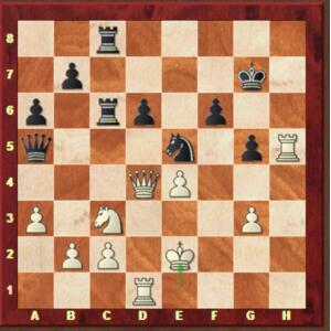 Topalov-Mvl, Rapide ronde 7.
