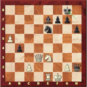 Carlsen-Mvl, Blitz ronde 2.
