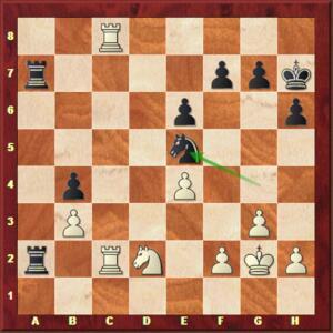 Mvl-Carlsen, Blitz ronde 11.