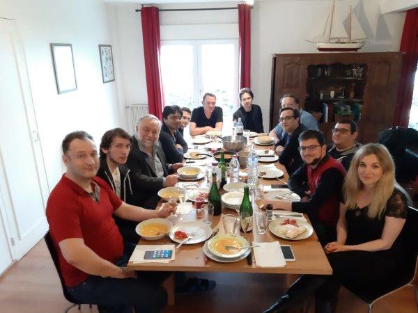 Toute l'équipe d'Asnières est dans la maison… (Photo : Club d'Asnières).