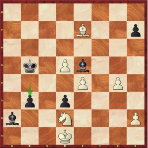 Ding Liren-Mvl, Blitz ronde 8.