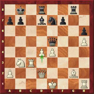 Aronian-Mvl, ronde 4.