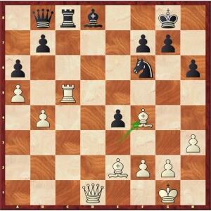 Caruana-Mvl, Paris Blitz, round 12.