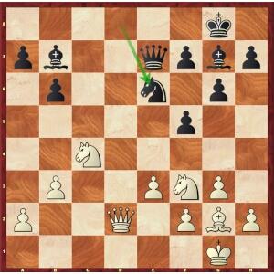 Duda-Mvl, Paris Blitz, round 17.