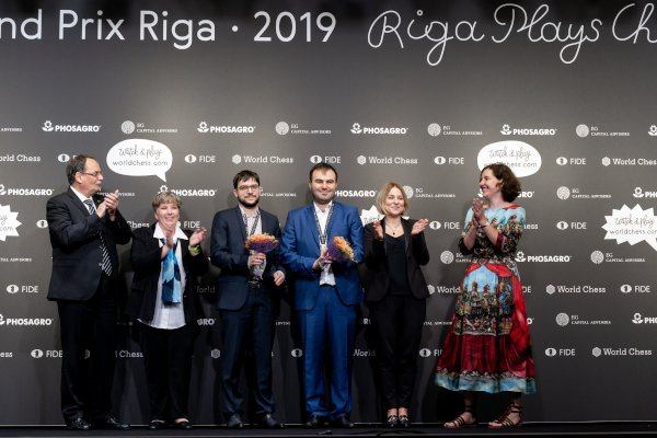 Finalist in Riga, a good result! (Photo: Niki Riga, World Chess).