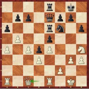 Mvl-Aronian, ¼ final tie-break (2).