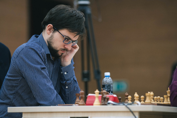 ¼ final match against Aronian, a classic (Photo : Fide).