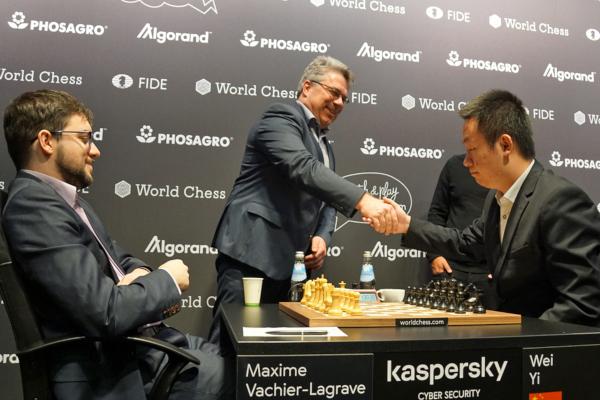 Lancement du tournoi (Photo : Nadja Wittmann).