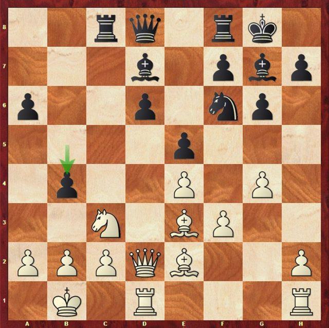 Carlsen-Mvl, Ronde 4.