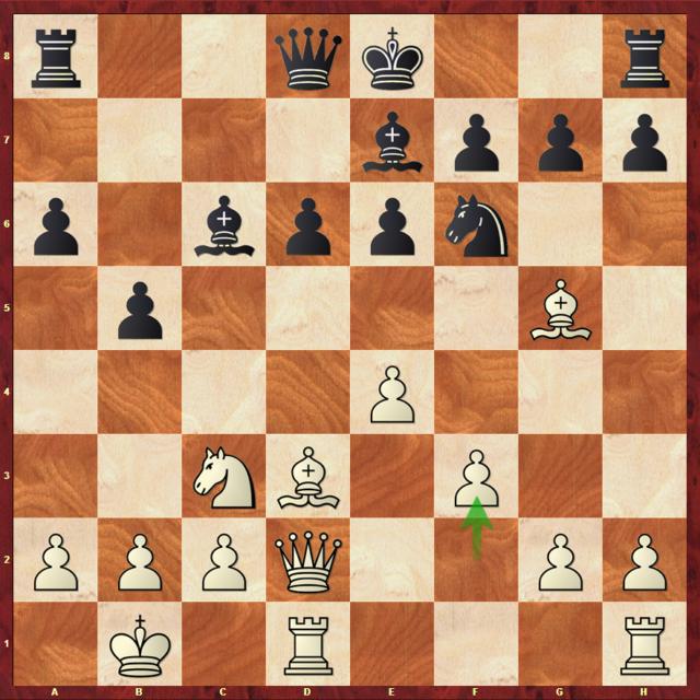 Paravyan-Mvl, 1/32e - tie-break 1 retour.